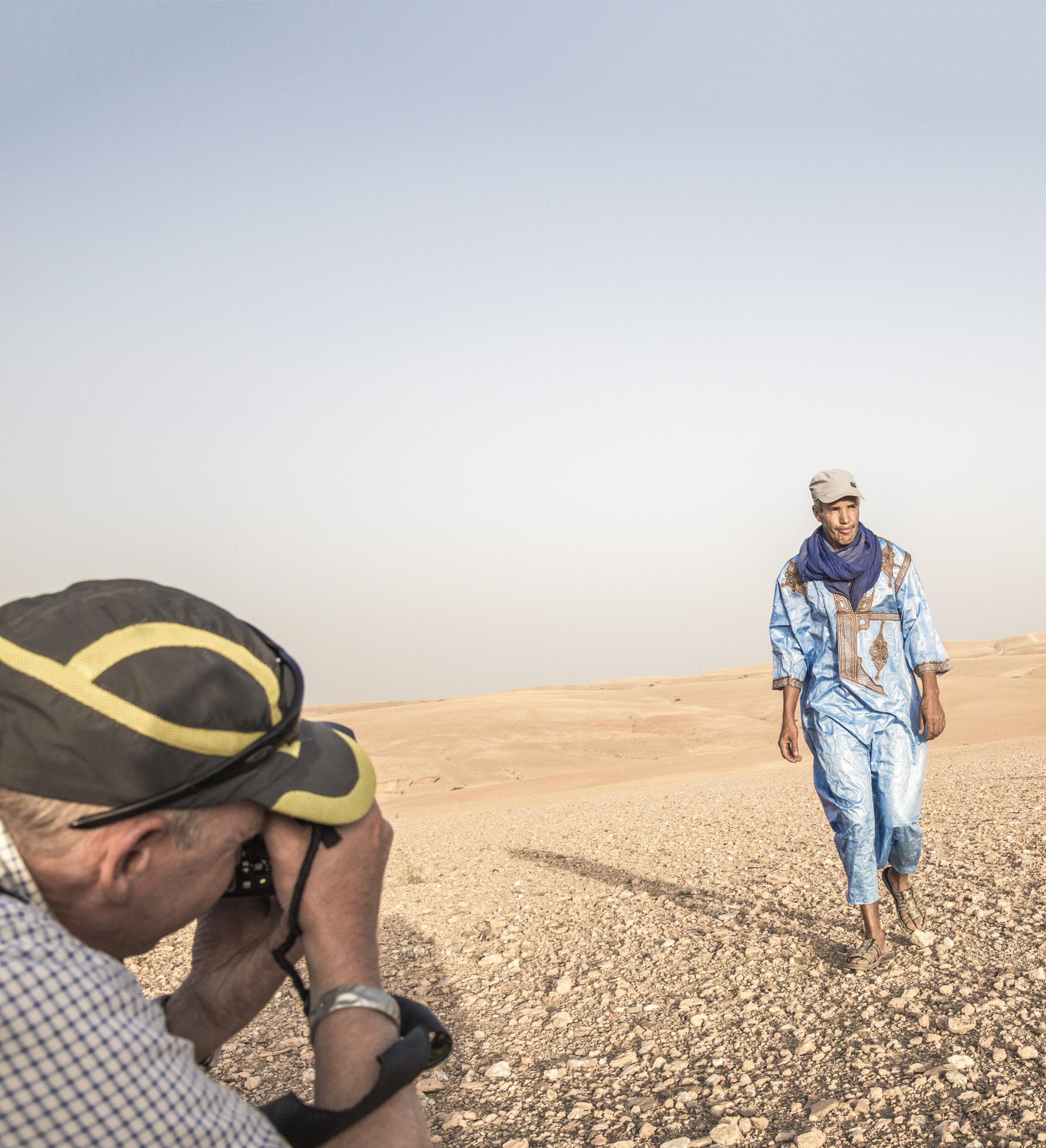 Photo tour in the desert, Marrakesh