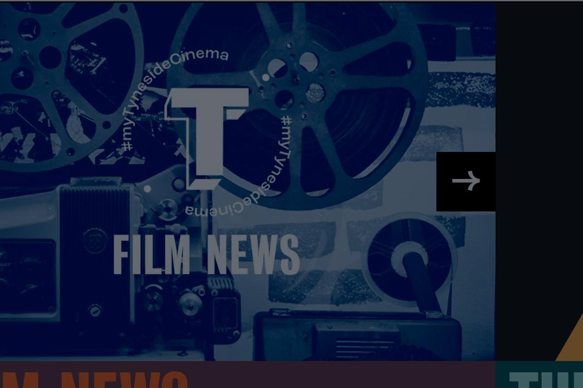 Tyneside Cinema: website by Cog Design');